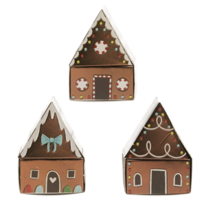 Creative Co-Op Matchbox | Gingerbread House