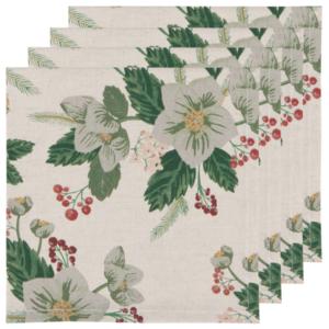 Now Designs Napkin Set of 4 | Winterblossom