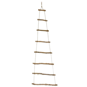Creative Co-Op Hanging Tree | Birch Wood Branch | 5 ft Tall
