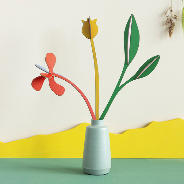 Studio Roof 3D Floral Art | 4 Seasons