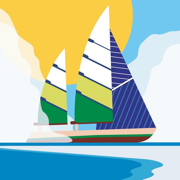 Studio Roof 3D Puzzle | Classic Boat | Beaufort