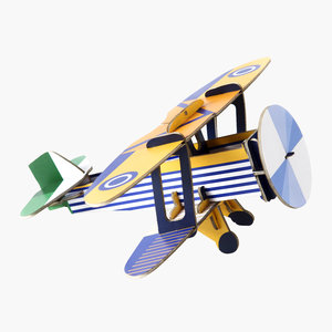 Studio Roof 3D Puzzle | Classic Plane | Goshawk