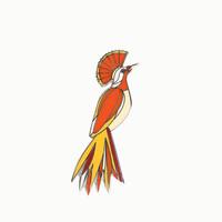 Studio Roof Enamel Pin | Bird | 3 Kinds