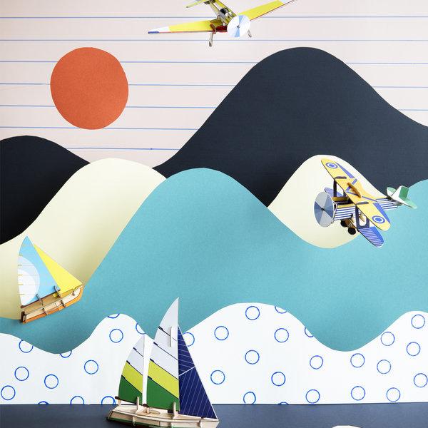 Studio Roof 3D Puzzle   Classic Plane   Goshawk