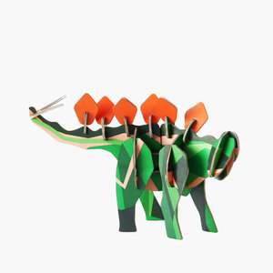 Studio Roof 3D Totem Puzzle | Dinosaur | 3 Kinds