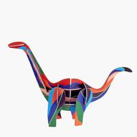 Studio Roof 3D Totem Puzzles | Dinosaur
