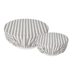 Now Designs Bowl Covers | Set of 2 | Ticking Stripe