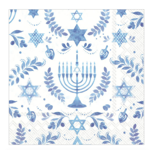Boston International Napkins | Cocktail | Hanukkah