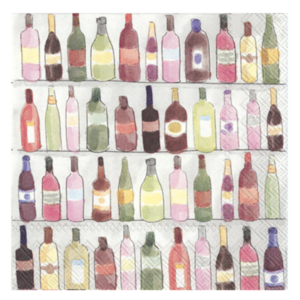 Boston International Napkins | Cocktail | Wine Shelves