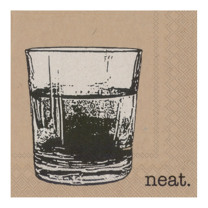 Napkins | Cocktail | Neat