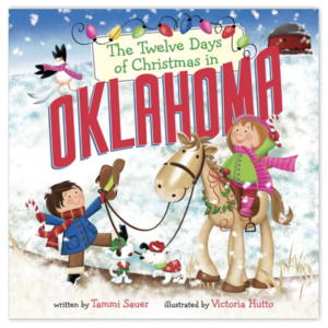Sterling Publishing Book | Twelve Days of Christmas in Oklahoma