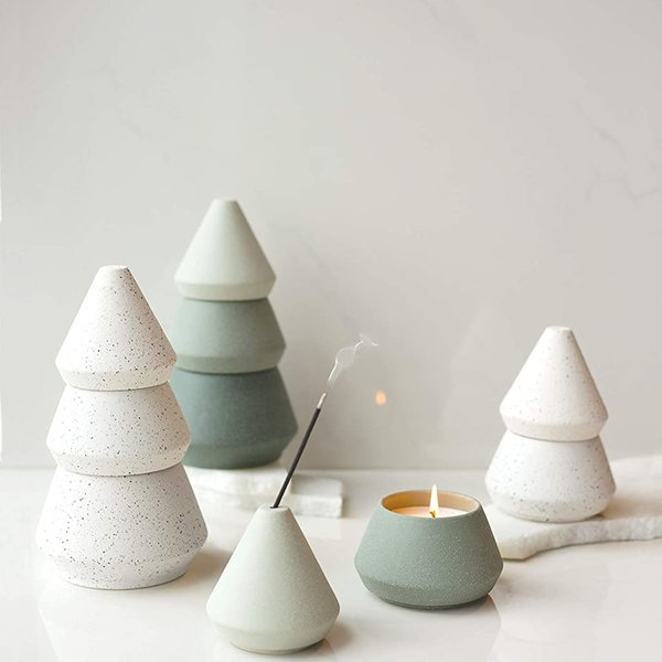 Paddywax Candle | Ceramic Tree White | Variety