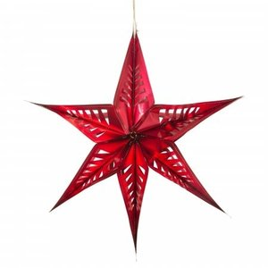 Acorn & Will Recycled Star Decoration | Large | 3 Colors