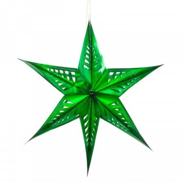 Acorn & Will Recycled Star Decoration | Large | Variety