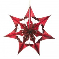 Acorn & Will Recycled Decorations   Spherical Star