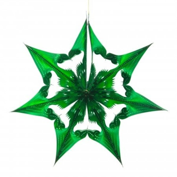 Recycled Decorations   Spherical Star