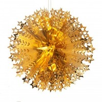 Recycled Decorations | Large Starry Ball