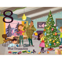 Gibbs Smith Board Book | Christmas: Count & Find Primer