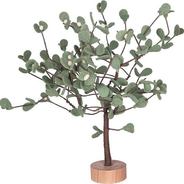 "Creative Co-Op Felt Tree With Berries | 22"""
