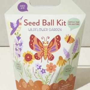 Seed Ball Kit   Wildflower Garden