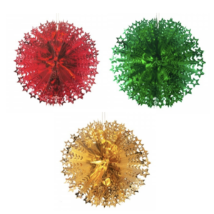 Acorn & Will Starry Ball Decoration | Large | 3 Colors