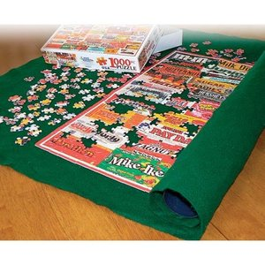 """White Mountain Puzzles Puzzle Roll Up Mat 