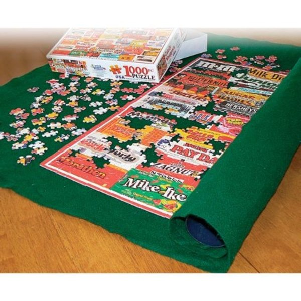 "White Mountain Puzzles Puzzle Roll Up Mat | 47"" x 35.5"""
