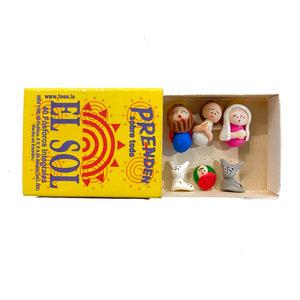 Sedona Spirit Nativity Matchbox  | El Sol Prenden
