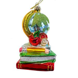One Hundred 80 Degrees Glass Ornament | Teacher