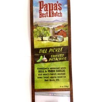 Papa's Best Batch Nuts | 8oz | Smoked Dill Pickle Pistachio
