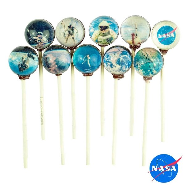 Sparko Sweets Galaxy Lollipop | NASA | Gemini Mission