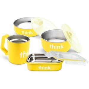 Thinkbaby Baby Feeding Set | Yellow