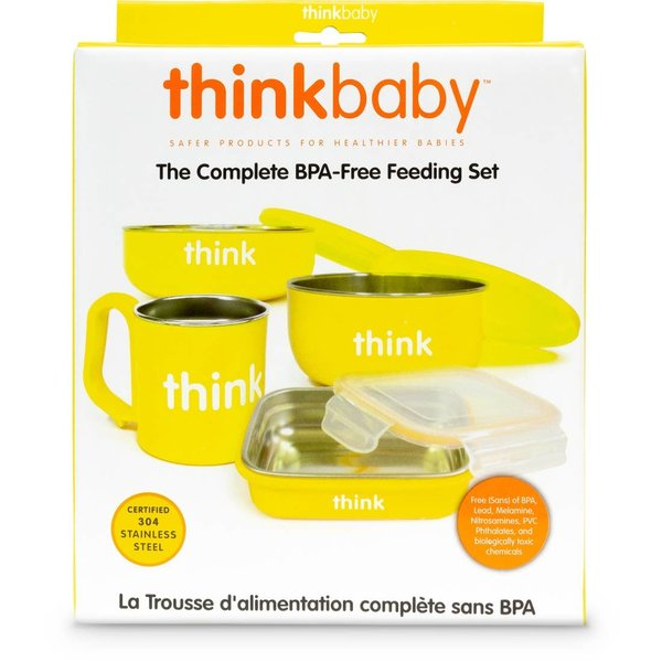 Baby Feeding Set | Yellow