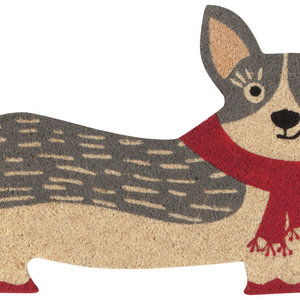 Now Designs Doormat | Cora Corgi