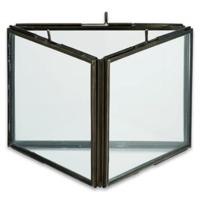 Triple Panel Frame   Danta   Antique Black