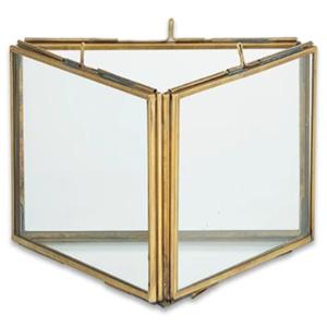 Triple Panel Frame | Danta | Antique Brass