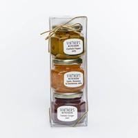 Vintner's Kitchen Condiment Trio Jars