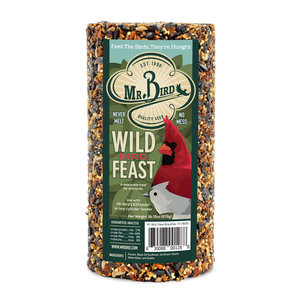 Mr. Bird Bird Seed Cylinder | Small | WildBird Feast
