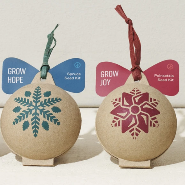 Modern Sprout Ornament | Seed Ball