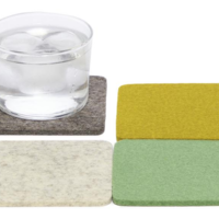 Coasters   4-Pack   Merino Wool Felt