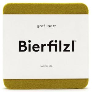 Graf & Lantz Coasters | 4-Pack | Merino Wool Felt