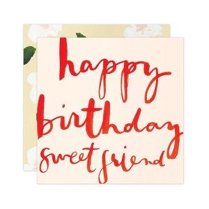 Our Heiday Card | Happy Birthday Sweet Friend