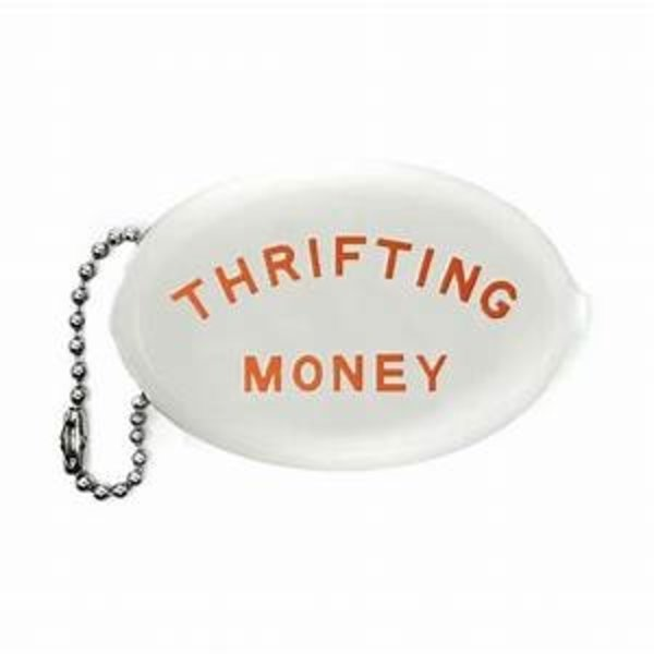 THREE potato FOUR Coin Pouch | Thrifting Money