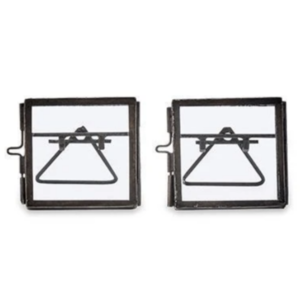 Nkuku Tiny Frame | Danta | Antique Black