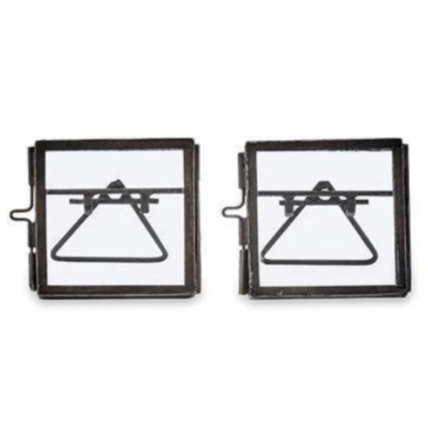 Nkuku Tiny Frame | Danta | Antique Black