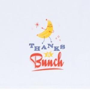 Now Designs Tea Towel   Cheeky Banana
