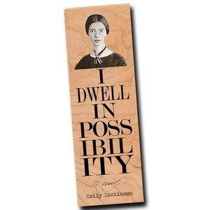 Wooden Bookmark | Emily Dickinson