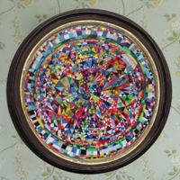 EEBOO Puzzle | 500pc | Triangle Kaleidoscope
