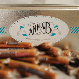 Annie B's Handmade Caramel Tin | 45-Piece Assorted