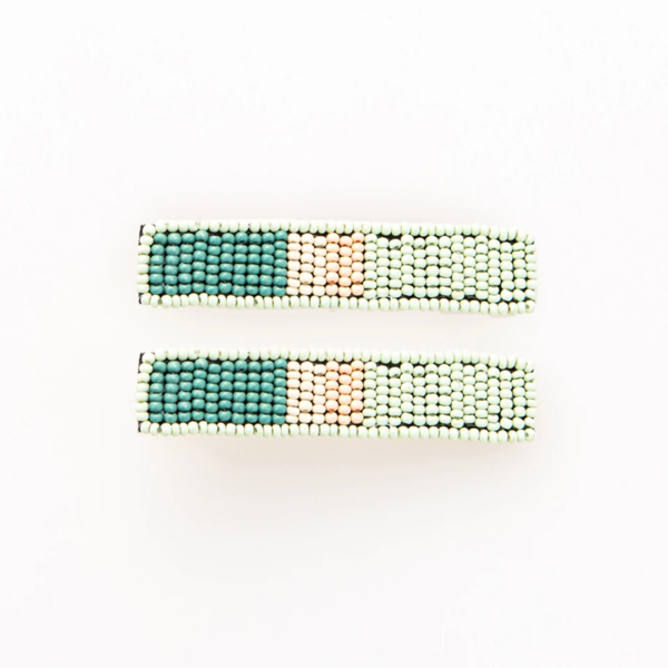 Beaded  Hair Clip Sets